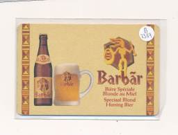 AC ( Sous-Bocks)  - B3384 - Biere Barbar ( 2 Scans) - Beer Mats