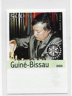 Guinea Bissau   ;  Chess Ajedrez  ; Imperforated - Guinea-Bissau