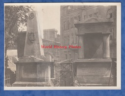 Photo Ancienne - VIENNA / WIEN - Montage Des Tombes De BEETHOVEN & Franz SCHUBERT - Musique Cimetiére Grab Grave - Places
