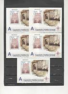 ESPAÑA-HB 3716 EXFILNA 2000-Avilés 5 Hojitas- Sellos Nuevos Sin Fijasellos-precio Menor Que Facial (según Foto) - Blocs & Hojas