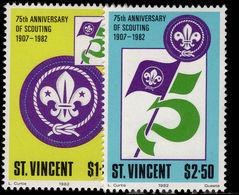 St Vincent 1982 Scouts Unmounted Mint. - St.Vincent (1979-...)