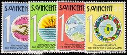 St Vincent 1983 Treaty Of Chaguarmas Unmounted Mint. - St.Vincent (1979-...)