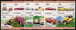 St Vincent 1983 Cars Unmounted Mint. - St.Vincent (1979-...)