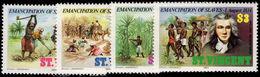 St Vincent 1984 Emancipation Of Slaves Unmounted Mint. - St.Vincent (1979-...)