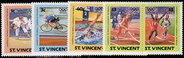 St Vincent 1984 Olympics Unmounted Mint. - St.Vincent (1979-...)