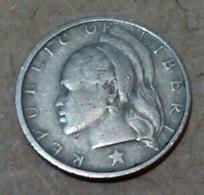 Liberia - 10 Cents - 1975 - Km 15 - Agouz - Liberia