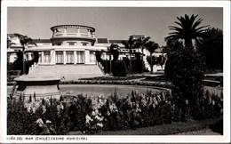 !  Postcard 1956 Vina Del Mar, Chile, Casino Municipal - Chile