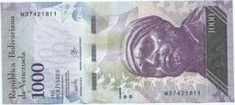 Venezuela 1.000 Bolivares 23-3-2017 Pick 95b UNC - Venezuela