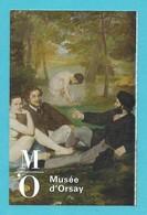 Ticket D' Entrée Paris Musée D' Orsay Le Déjeuner Sur L' Herbe Manet - 2017 - Toegangskaarten