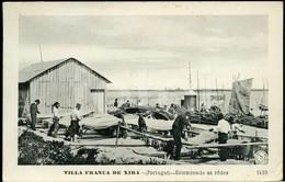 OLD POSTCARD PESCADORES VILA FRANCA DE XIRA RIBATEJO PORTUGAL CARTE POSTALE - Santarem