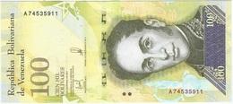 Venezuela 100.000 Bolivares 13-12-2017 Pick 100 UNC - Venezuela
