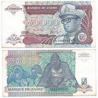 Zaire 50.000 Zaires 1991 Pick 40a Ref 1404 - Zaire