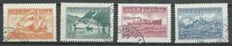 Yougoslavie YT N°345/348 Garde Sur L'Adriatique Oblitéré ° - 1931-1941 Royaume De Yougoslavie