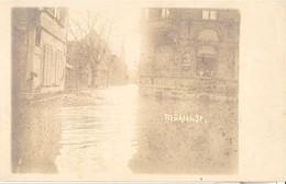 2031 BAD KREUZNACH Mühlen Strasse FLUT Foto Karte Uberschwemmung  18 1 1920 - Bad Kreuznach