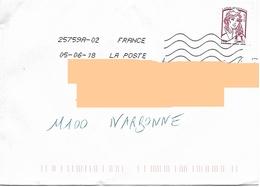 1 Marianne Ciappa Autocollant Mal Cadré Au Ras De La Signature + Toshiba - 2013-... Marianne De Ciappa-Kawena