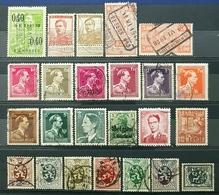 Belgique, Lot 35 Of 70+ Used Stamps, Start 1e - Sammlungen (ohne Album)