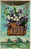 6 - Année Date Millesime - 1911 - Nacelle Violette Muguet - Nouvel An