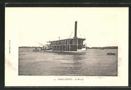 CPA Port Gentil, Le Mandji, Bateau à Vapeur Auf Dem Fluss - Unclassified