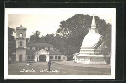 AK Colombo, Chrám Budhy - Sri Lanka (Ceylon)