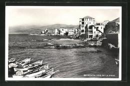 AK Beyrouth, Vue De La Digue - Libanon