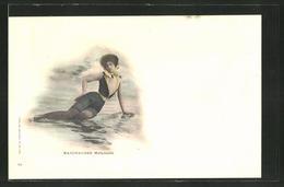 AK Baigneuses, Mélancolie, Modell In Strandmode - Moda