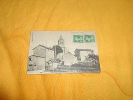 CARTE POSTALE ANCIENNE CIRCULEE DE 1918. / CHABRELOCHE.- L'EGLISE. / CACHETS + TIMBRES - France