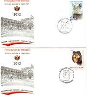 Monaco > FDC N°2810 & 2016-10/01/2012---02/02/2012 - FDC