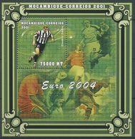 MOZAMBICO  2001, Calcio Z. Zidane S/s Serie Cpl. 1BF Nuovo** Perfetto - Mozambico