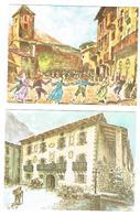 C.P. ANDORRE  2 COLECTION PARROTS - Andorre