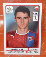 EURO2012 PANINI N. 156 VACEK  STICKER NEW CON VELINA - Panini