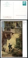 """Bund PP6 B2/005 SPITZWEG """"BRIEFBOTE"""" 1956  NGK 10,00€ - Privatpostkarten - Ungebraucht"""