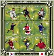 MOZAMBICO  2001, Coppa Del Mondo 2002 Serie Cpl. 1MF Da 9v.  Nuovo** Perfetto - Mozambico