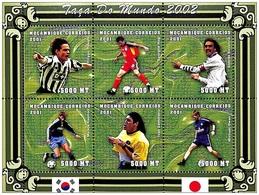 MOZAMBICO  2001, Coppa Del Mondo 2002 Serie Cpl. 1MF Da 6v.  Nuovo** Perfetto - Mozambico