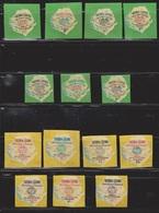 SIERRA LEONE Scott # 257-63, C14-20 MNH - Die Cut Self Adhesive - NY World Fair - Sierra Leone (1961-...)