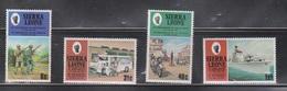 SIERRA LEONE Scott # 505-8 MNH - Anniversary Of Indepenence & Republic - Sierra Leone (1961-...)