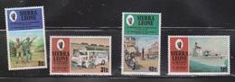 SIERRA LEONE Scott # 505-8 MNH #2 - Anniversary Of Indepenence & Republic - Sierra Leone (1961-...)