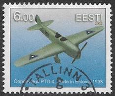 Estonia 2002 Aircraft 6k Good/fine Used [14/24957/6D] - Estonia