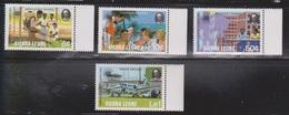 SIERRA LEONE Scott # 581-4 MNH - Vocational Training - Sierra Leone (1961-...)