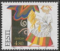 Estonia SG295 1997 Europa 4k.80 Good/fine Used [22/19856/6D] - Estonia