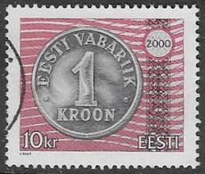 Estonia Mi268 2000 Definitive 10k Good/fine Used [38/31489/UD] - Estonia