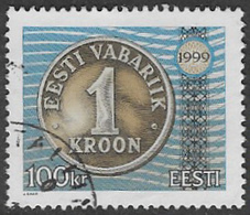 Estonia SG302 1999 Definitive 100k Good/fine Used [38/31490/6D] - Estonia