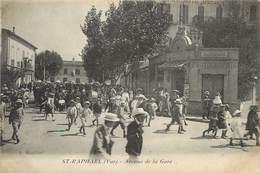 "/ CPA FRANCE 83 ""Saint Raphaël, Av De La Gare"" - Saint-Raphaël"