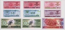 Noth Korea  Foreign Exchange Certificate 9v - Corée Du Nord