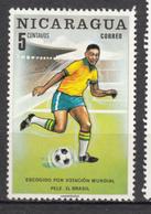 Nicaragua, MH, Pélé, Coupe Du Monde, World Cup, Foot, Football, Soccer, Stade, Stadium - Coupe Du Monde