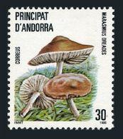 Andorra Sp 172,MNH.Michel 184. Mushrooms 1986.Marasmius Oreades. - Spanish Andorra