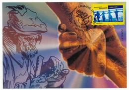 FRANCE - Carte Maximum - 3,00F Mouvement Emmaüs - Premier Jour - 45 ORLEANS - 26.9.1999 - Cartes-Maximum
