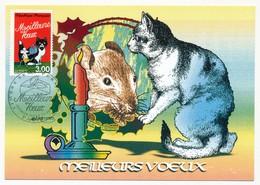 FRANCE - Carte Maximum - 3,00F Meilleurs Voeux - Premier Jour - PARIS - 8.11.1999 - 1990-99