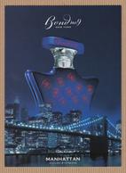 CC Carte Parfumée BOND No9 'MANHATTAN' Perfume Card JAPAN 1 EX. - Cartes Parfumées