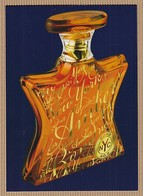 CC Carte Parfumée BOND No9 'NEW YORK AMBER' Perfume Postcard 1 EX. - Perfume Cards