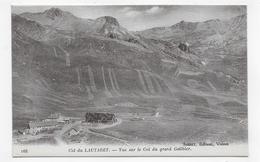 COL DU LAUTARET - N° 168 - VUE SUR LE COL DU GRAND GALIBIER - CPA NON VOYAGEE - France